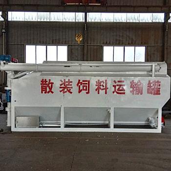 供应南北25吨的散装饲料车价格_饲料运输罐专业生产