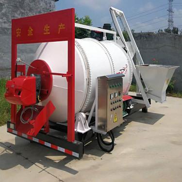 供应润沃定制再生料路面养护车 沥青混合料拌合机 品质保证
