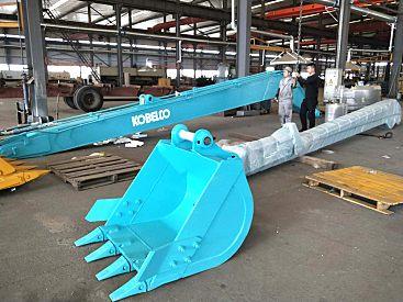 供应神钢挖掘机加长臂 18米加长臂 卡尔迪机机械生产挖掘机加长臂