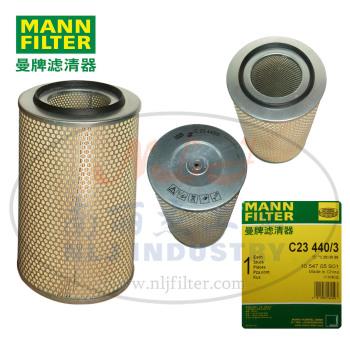 MANN-FILTER(曼牌滤清器)空滤C23440/3