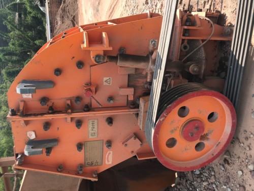出售二手中天zf40型二合一破碎机制砂机砂石料生产线设备