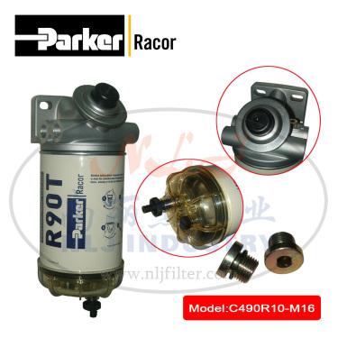 Parker(派克)Racor燃油过滤/水分离器C490R10-M16