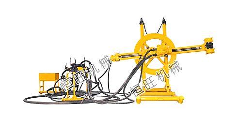 供应恒旺钻机导轨式凿岩机矿山开采钻孔多角度钻孔水平钻孔