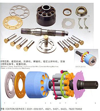 专业维修伊顿液压泵液压马达减速机