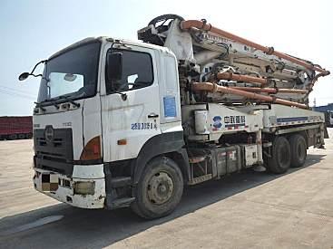 出售二手中联中联40米泵车日野底盘