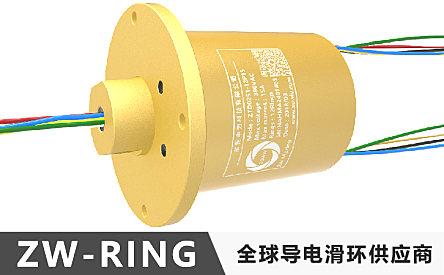 中为科技360度旋转缆索吊电气系统导电滑环