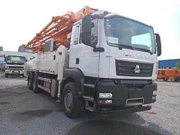 出售二手中联47米泵车