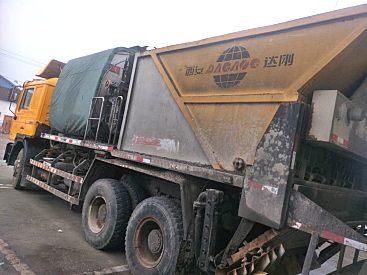 出售二手达刚DGL5255TBS碎石同步封层车