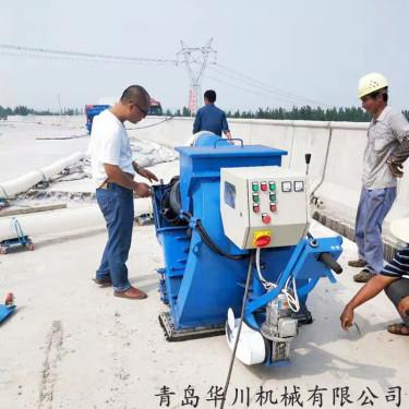 环保路面抛丸机 抛毛机 大理石地面表层打毛机 防滑设备
