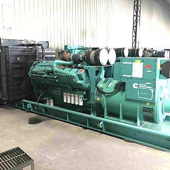 出售二手1000kw康明斯发电机组-二手大功率柴油发电机组出售