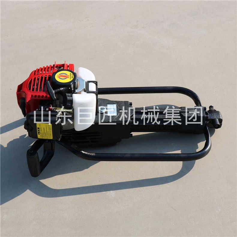 巨匠供应10米取土钻机QTZ-1取样钻机能钻多深10米野外轻便式取土钻机