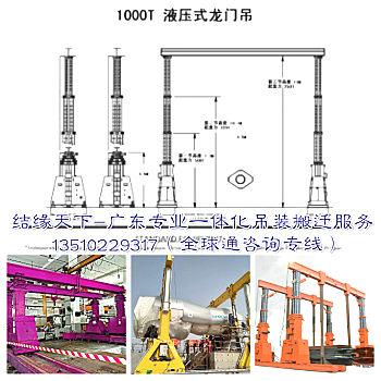 出租TGC500吨700吨1000吨龙门吊液压龙门吊可移动式液压龙门吊租赁