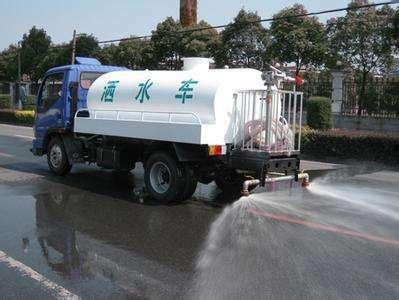 杭州下城区洒水车出租徐工5方洒水车路面养护车