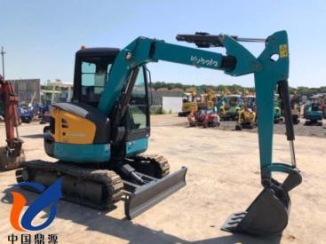出售原装进口二手久保田RX-406小挖掘机