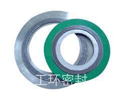 供应上海工环D型金属缠绕垫片 带内外环型金属缠绕垫标注