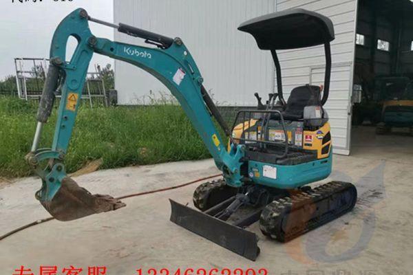 出售二手久保田U-17小挖掘机