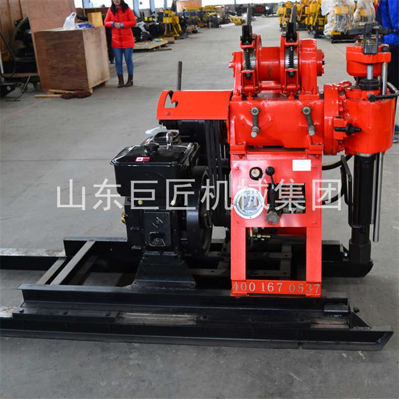 巨匠130米液压钻机HZ-130YY可移机地质勘探钻机时风水冷柴油机