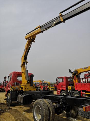 湖北合力随车吊徐工8吨10吨12吨14吨16吨随车吊多少钱一辆_可分期购车
