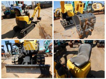 出售原装二手洋马J09小型挖掘机 超小型无尾小挖机