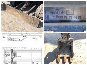 出售久保田RX-153S二手小型挖掘机  12年无尾型小挖机