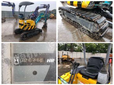 出售二手北越AX15U挖掘机 可出租手续齐全的二手小挖机