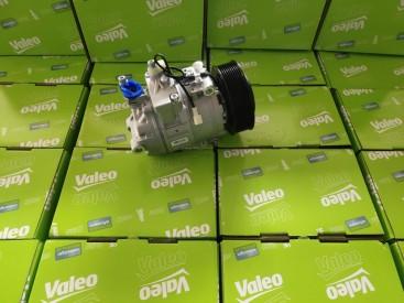 奔驰泵车配件空调压缩机valeo