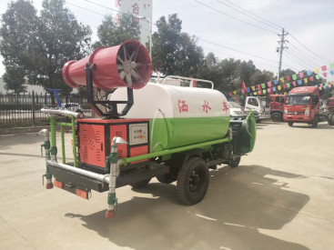 湖北程力洒水车 贵州三轮雾炮洒水车 小型雾炮洒水车