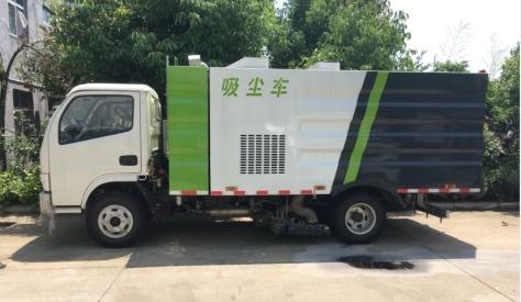一款适用水泥厂煤厂矿厂厂区园区的吸尘车 二手吸尘车