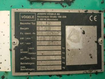 出售二手维特根2100-C沥青混凝土摊铺设备