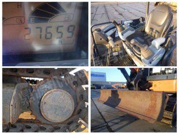 北京出售转让二手2768小时2009年日立ZX27U-3挖掘机 超低价转让二手小型挖掘机