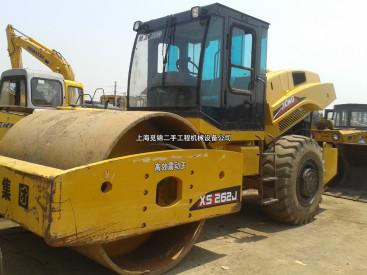 出售二手徐工26吨压路机,26吨单钢轮振动二手压路机