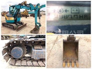 内蒙二手久保田30小型挖掘机 原版原车精品出售