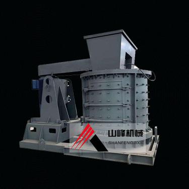 供应山峰600、800型复合式破碎机 石料制砂线青石重型锤式破碎机
