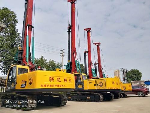供应联达LD60H旋挖钻机水井地基工程建筑打桩机
