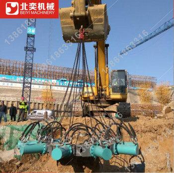 混凝土灌注桩破桩机 机器破桩头 桥梁桩基破桩头