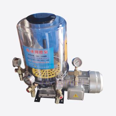 混凝土搅拌站仕高玛主机电动润滑油泵 外置380V电机黄油泵 搅拌机配件