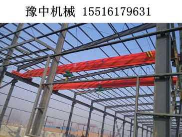 广东江门桥式起重机销售厂家服务