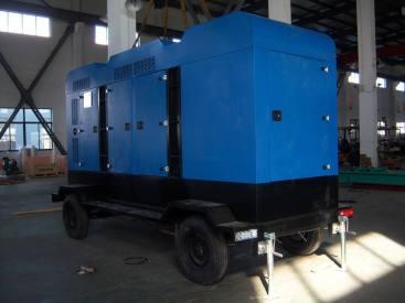 邯郸发电机出租沃尔沃400发电机(组)