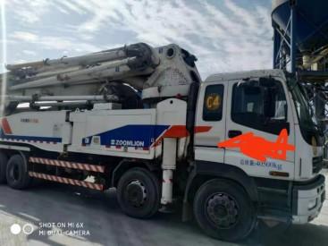 出售二手中联52米泵车