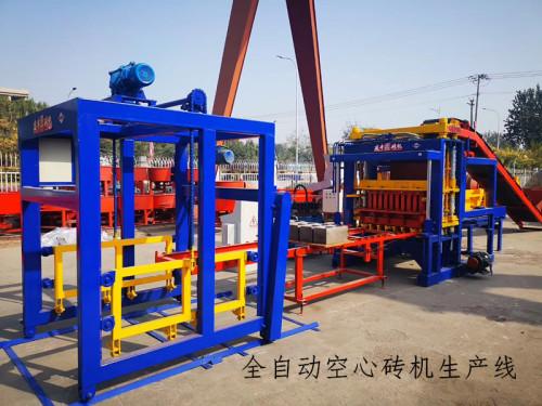 供应黑河市全自动空心砖制砖机 好用的大产量空心砖设备