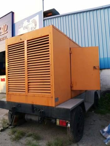 出售310KW静音型二手发电机组康明斯NTA855-G2A拖车发电机(组)