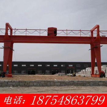 处理3t双梁起重机 旧天车跨度5米到30米 二手行吊 轨道