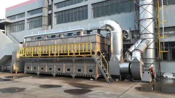 伟航吸附催化燃烧设备高效除味工作原理及适用范围