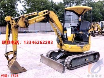 上海二手小型小挖掘机图片  出售小松20型号小钩机