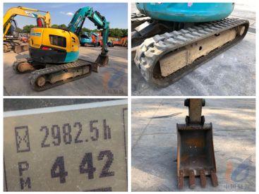 辽宁丹东出售二手久保田RX-306挖掘机