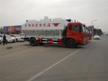 供应东风多种可选散装饲料车