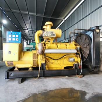 出售300KW上柴二手发电机上柴12V135ZAD 柴油发电机(组)