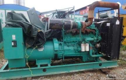 出售二手康明斯KTA19-G4发电机(组)大型二手发电机组