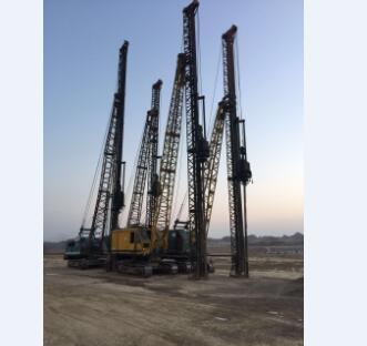供甘肃灰土挤密桩工程和定西强夯置换工程
