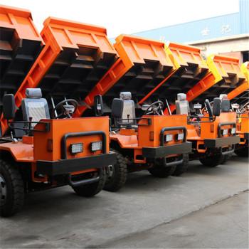 生产矿安标志UQ-12矿用自卸车